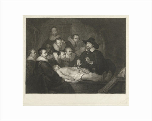 The Anatomy Lesson of Dr Nicolaes Tulp by Rembrandt Harmensz. van Rijn