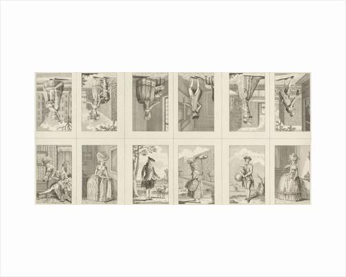 Male and female costumes by Noach van der Meer II