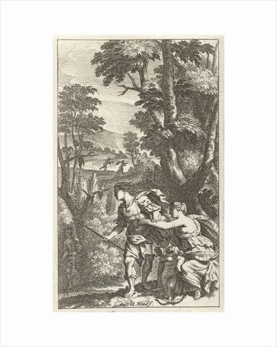 Fleeing shepherd by Pierre Marteau