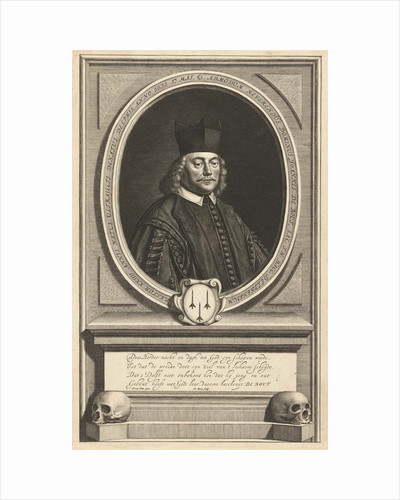 Portrait of Johannes de Bout by Anonymous