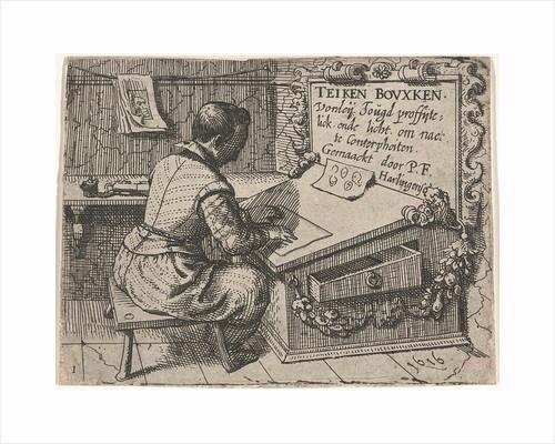 Pupil in a studio by Pieter Feddes van Harlingen