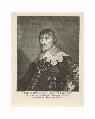 Portrait of King Christian IV of Denmark by Jacob Houbraken