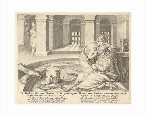 A daughter suckles her mother in jail by Claes Jansz. Visscher II