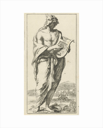 Personification of music by Arnold Houbraken