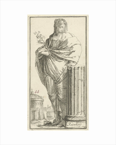 Personification of cleanliness by Arnold Houbraken