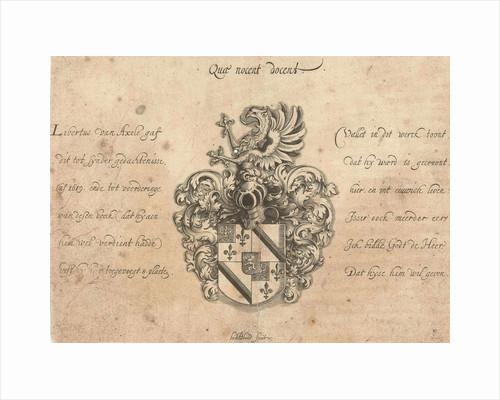 Coat of Libertus of Axele by Michiel le Blon