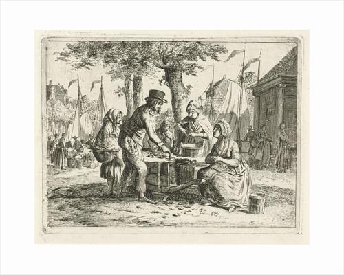 Mussel sales women by Christiaan Meijer