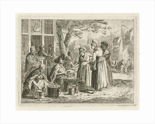 fish saleswomen by Christiaan Meijer