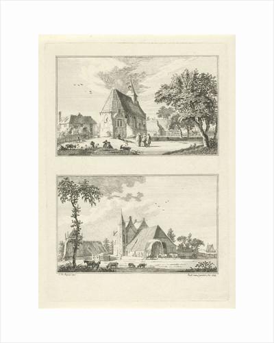 Chapel in Loo and House Loowaerd by Paulus van Liender