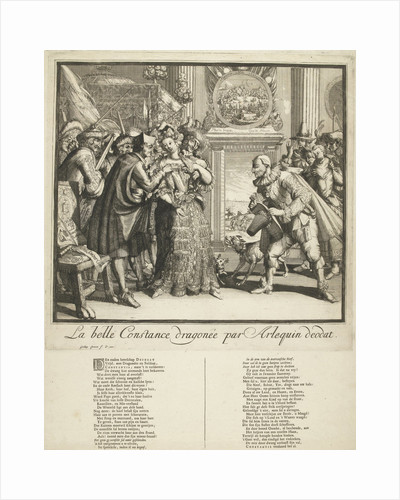 Cartoon by Louis XIV and the persecution of Protestants in France by Gisling