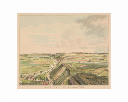 View of the countryside southeast of Nijmegen by Derk Anthony van de Wart
