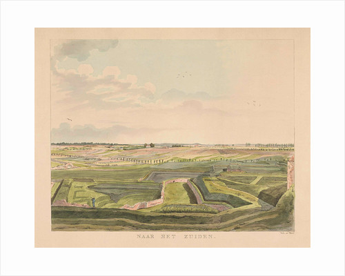 View of the countryside south of Nijmegen by Derk Anthony van de Wart