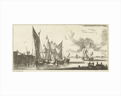 Tour Bangers or Toll Damse fishing boats by Bernardus Kleynhens