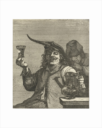 Drinking Man by Anonymous
