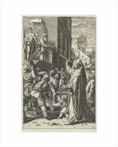 Christ Presented to the People (Ecce Gay) by Hendrick Goltzius