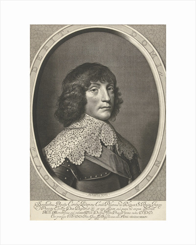 Portrait of Charles Louis, accept prince of the Palatinate at the age of 16 by Staten-Generaal