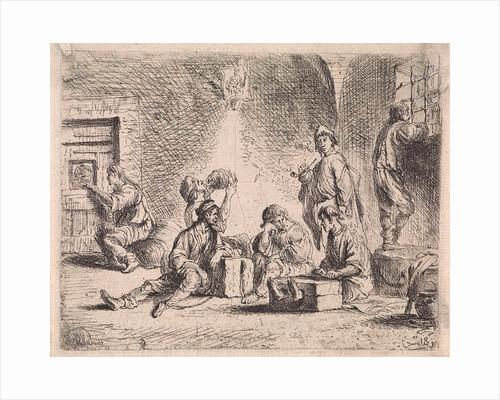 Prisoners in prison by Cornelis de Wael