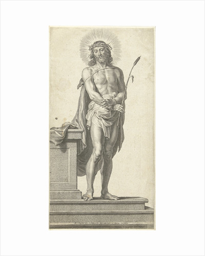 Christ with crown of thorns (Ecce Gay) by Martinus van den Enden