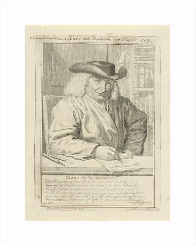 Portrait of Isaac Vincentszoon van der Vinne by Tako Hajo Jelgersma