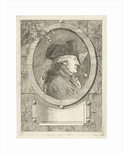 Portrait of Geerlig Grijpmoed by Hermanus Fock