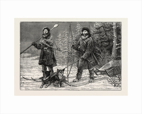Ostiak Hunters of Siberia by Anonymous