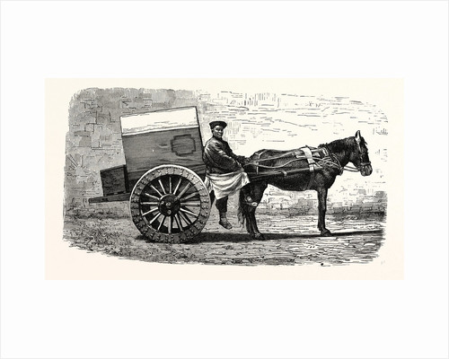 A Chinese Cart by Anonymous