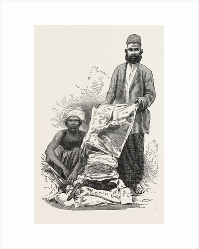 Singhalese Cloth Seller by Anonymous