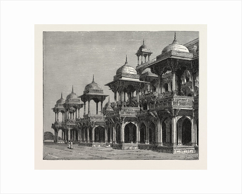 The Mausoleum of the Emperor Akbar, at Sikandra, a Suburb of Agra City. by Anonymous