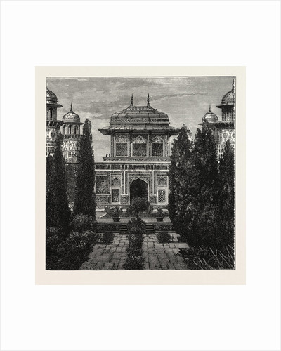 The Mausoleum of Etmaddowlah, Agra, India by Anonymous