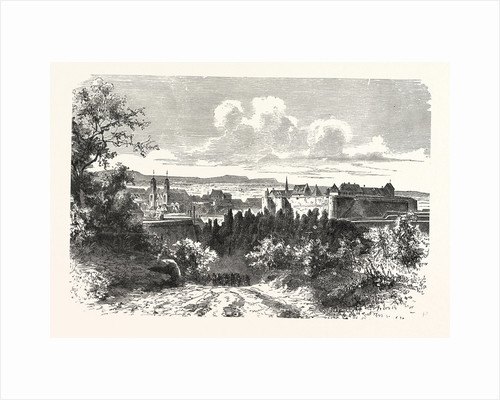 View of the Fortress of Sedan, France by Anonymous