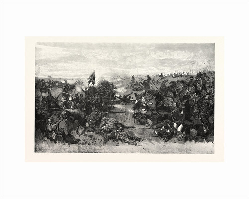 The 52nd Infantry Regiment at the Battle of Vionville on 16 August 1870, France by Anonymous