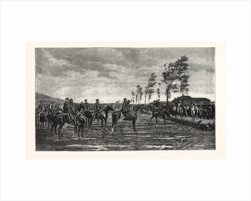 Surrender of Metz to Prince Frederick Charles of Prussia on 29 October 1870 by Anonymous