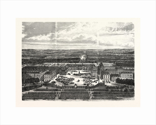 Versailles, German Headquarter. Revue on the Weapon Place by Anonymous