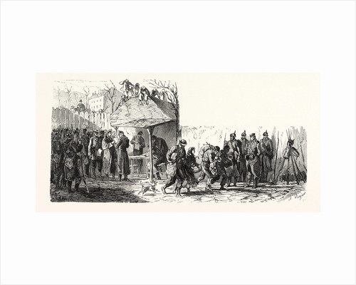 Before Paris: Presentation of Passes at the Gate of Pantin, France by Anonymous