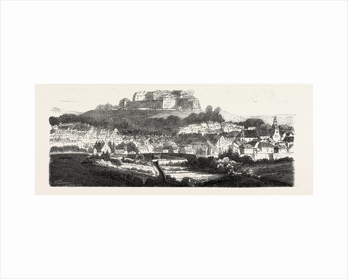 The Fortress Bitche 1870 by Anonymous