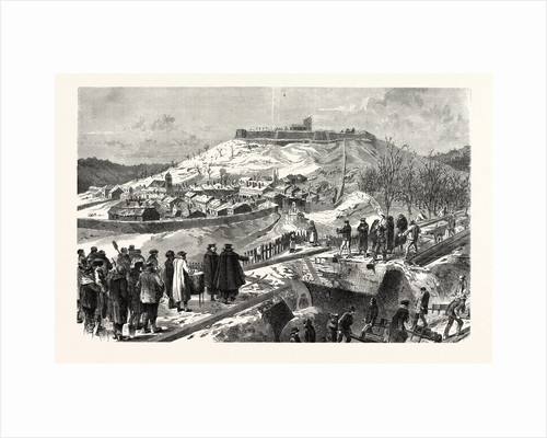 The City and the Fortress Montmedy, December 15 1870 by Anonymous