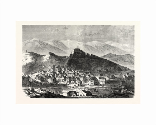 The City and the Fortress of Belfort, February 18 by Anonymous