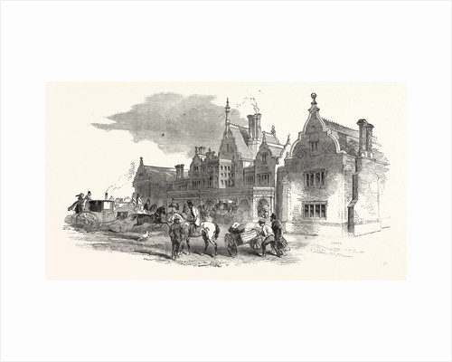 The North Staffordshire Railway: The Station at Stoke-Upon-Trent. UK, 1849 by Anonymous