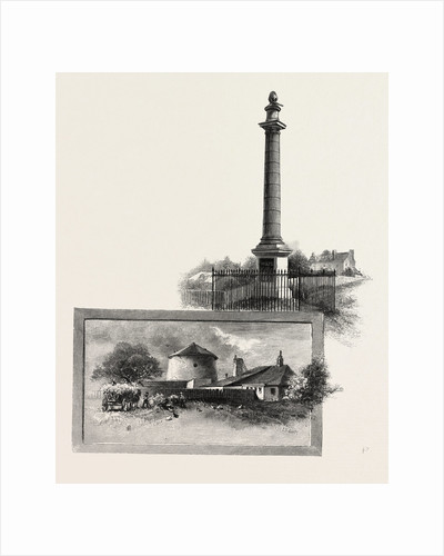 Quebec, Wolfe's Monument (Top); Martello Tower. On the Plains of Abraham. (Bottom), Canada by Anonymous