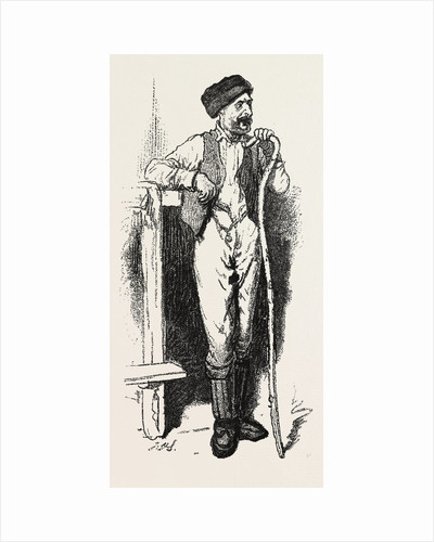 Men of the Bush, the Carpenter, Sketches from Life, Canada by Anonymous