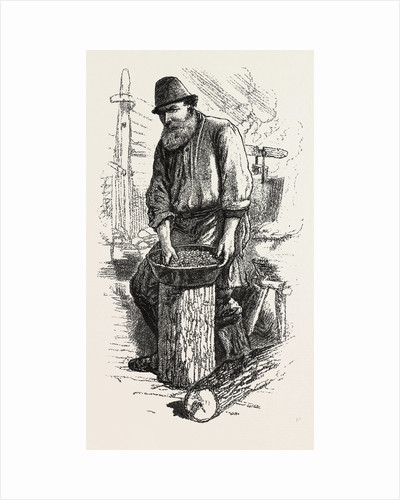Men of the Bush, the Cook, Sketches from Life, Canada by Anonymous