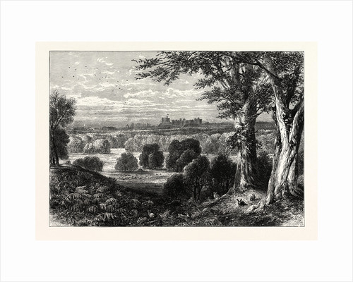 Windor Castle, from Bishopsgate by Anonymous