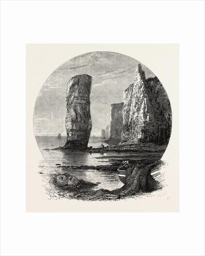 Rocks Near Bournemouth by Anonymous