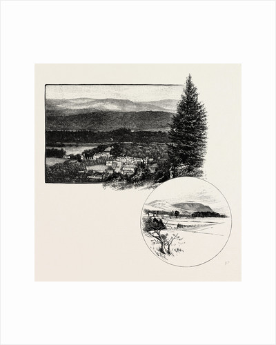 Birnam, from Birnam Hill, and Dunsinane Hill (Right at the Bottom) by Anonymous
