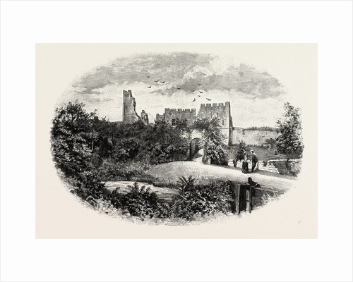 Prudhoe Castle by Anonymous
