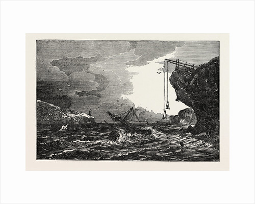Communication with a Ship in Distress by Means of the Cliff Waggon by Anonymous