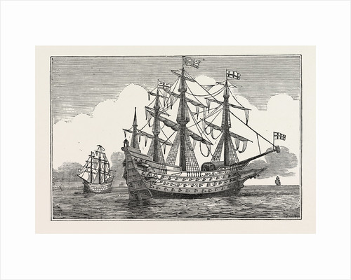 The Sovereign of the Seas. 1637 by Anonymous