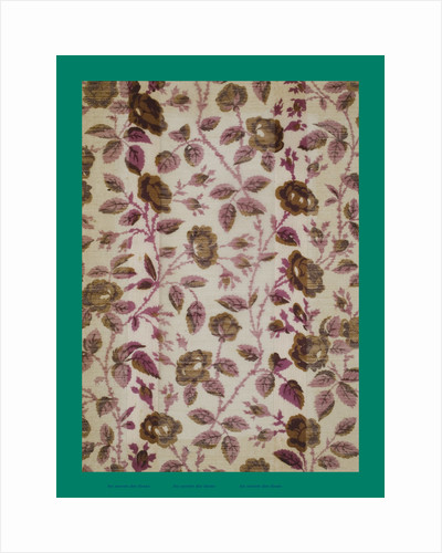 French Fabrics; First Half of the Nineteenth Century by Anonymous