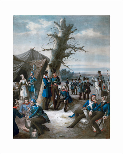 Camp of the Prussian Army by Anonymous