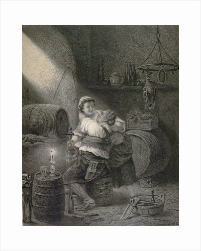 Love in the Winecellar by Anonymous